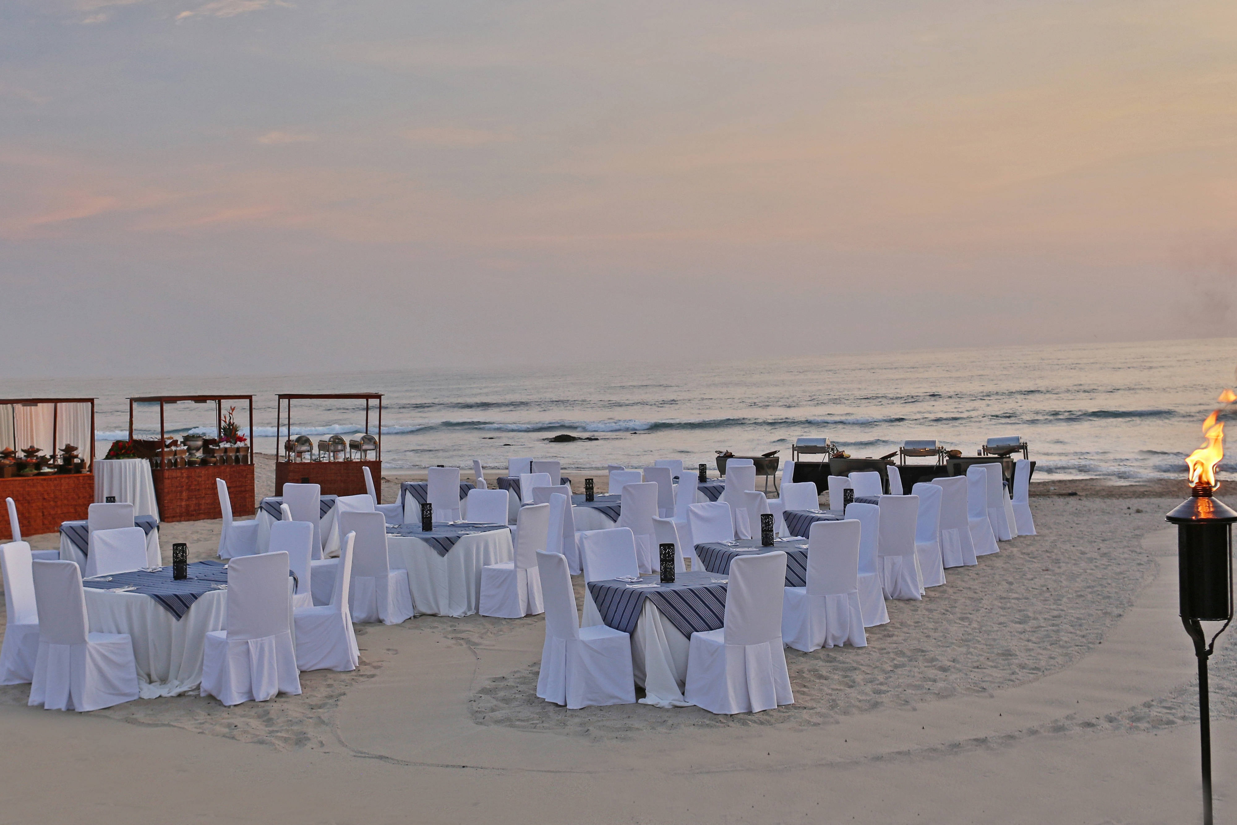 Guanacaste outdoor beach event