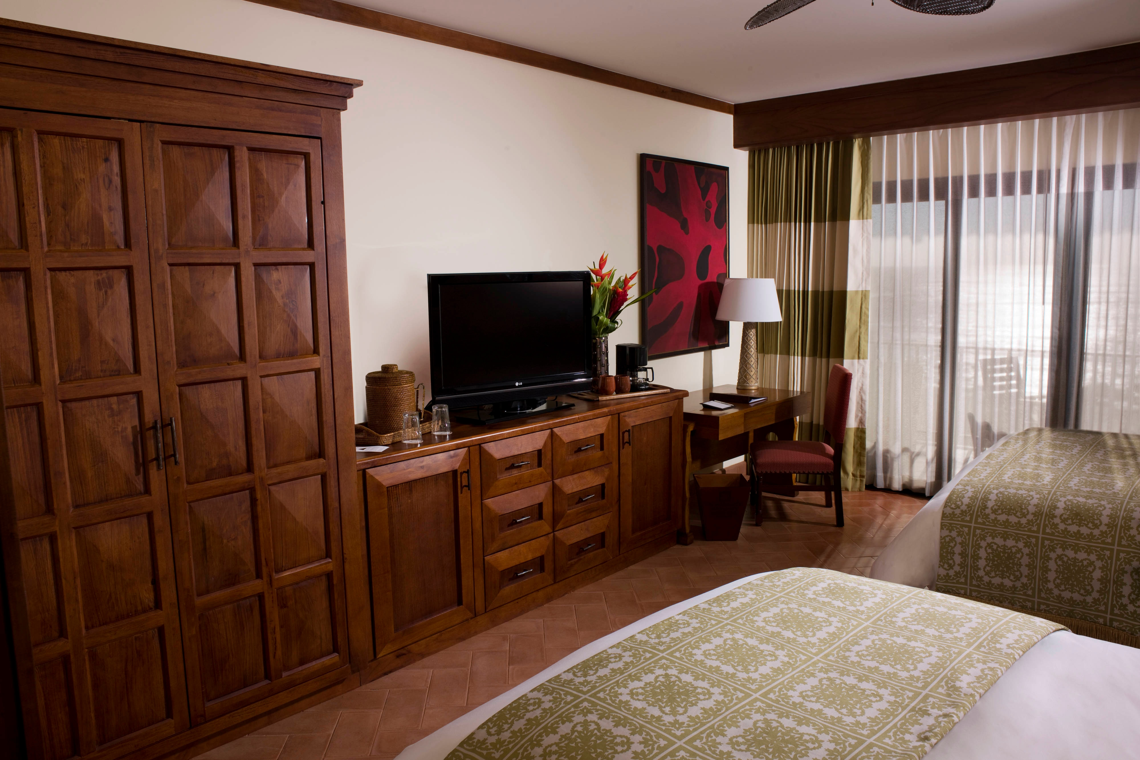 Luxury resort room in Guanacaste