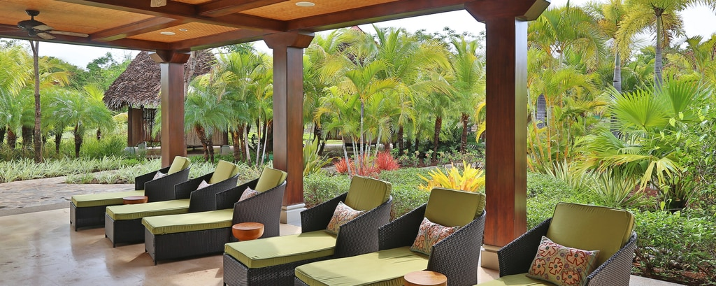 Guanacaste spa outdoor quiet area