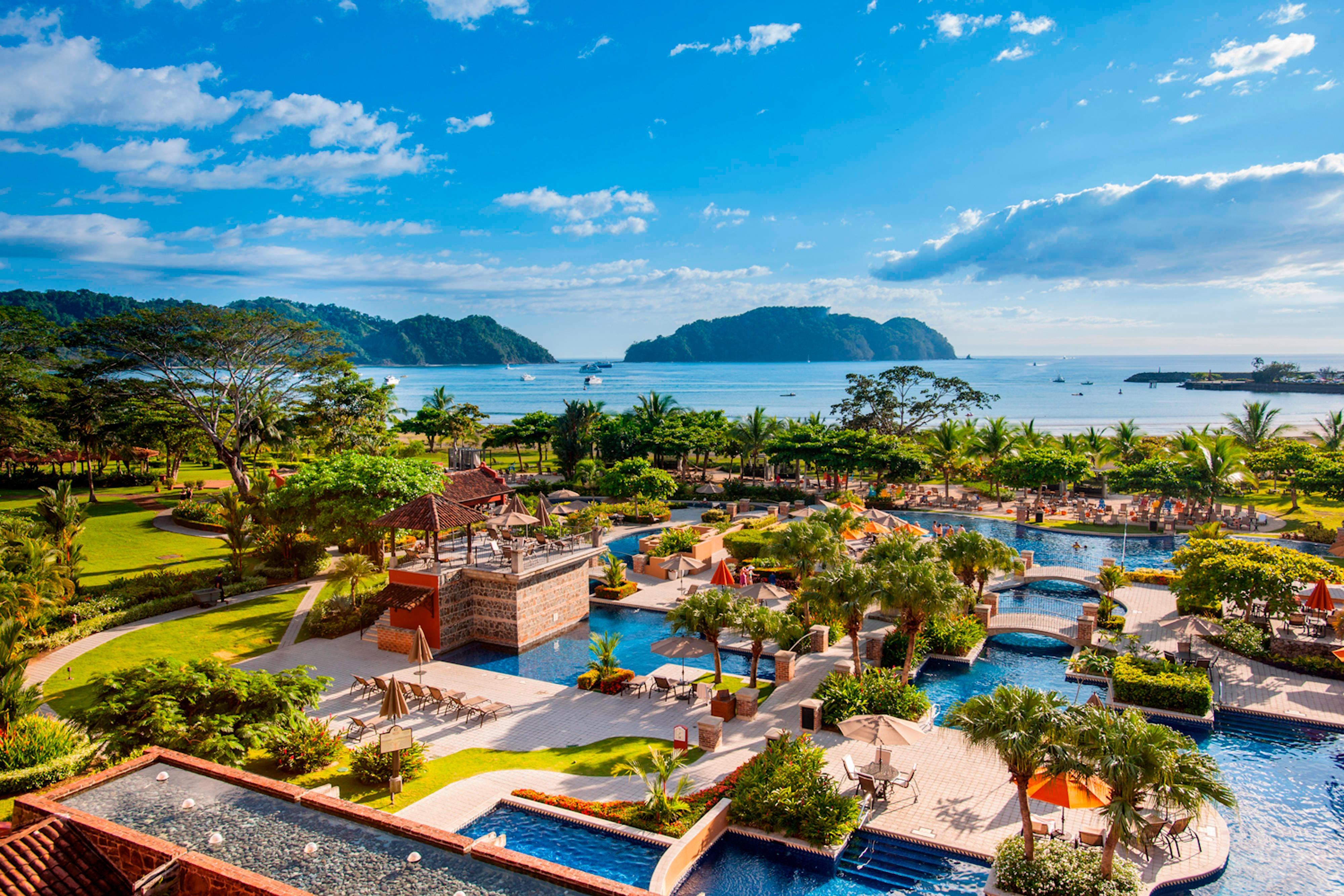 Hotel de frente para o mar, Herradura, Costa Rica