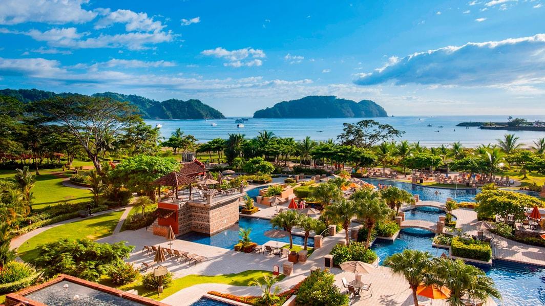 Hôtel Herradura en bord d'océan au Costa Rica