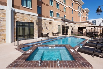 Outdoor Pool and Spa Daytime
