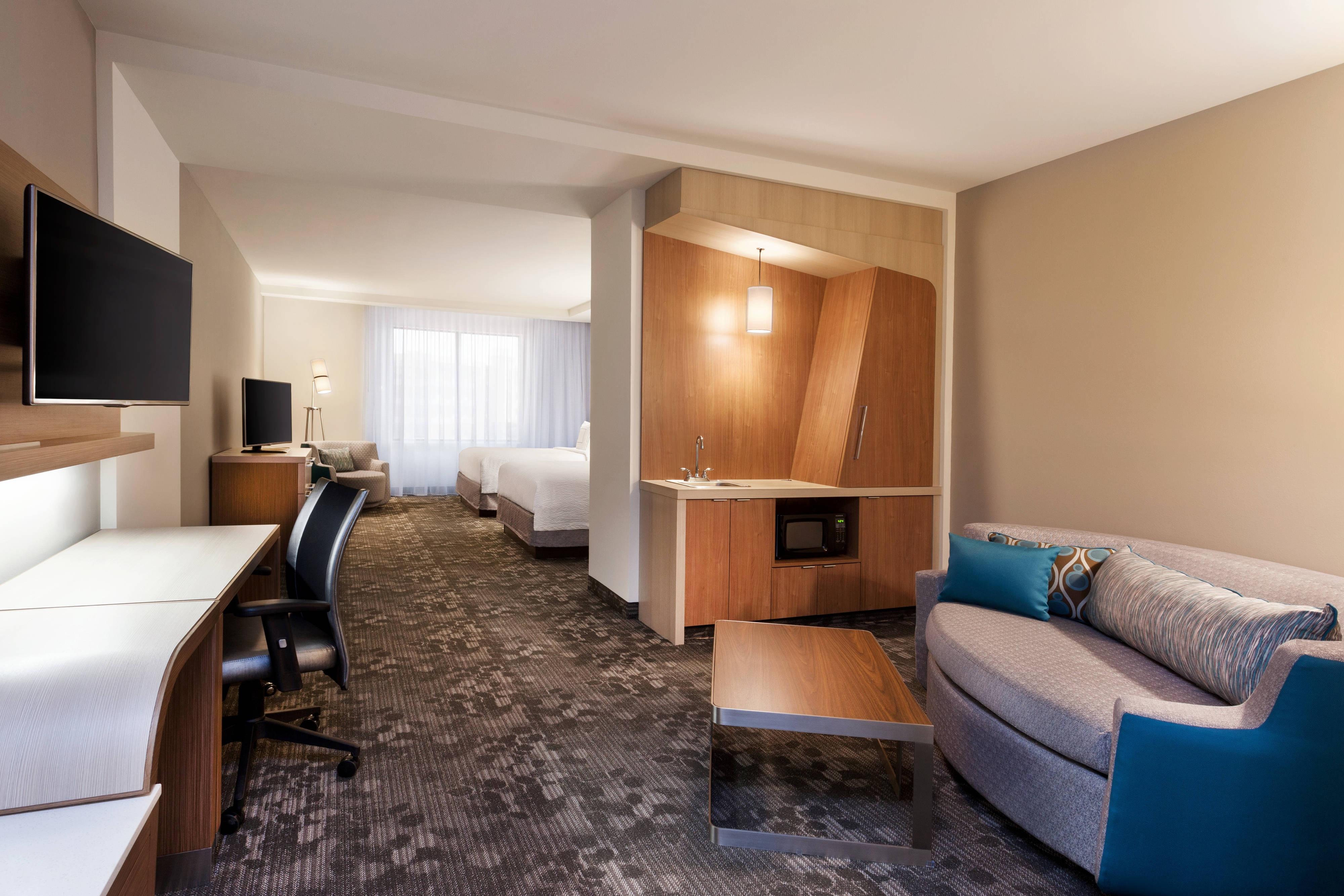 Suite mit einem Schlafzimmer und zwei Queensize-Betten