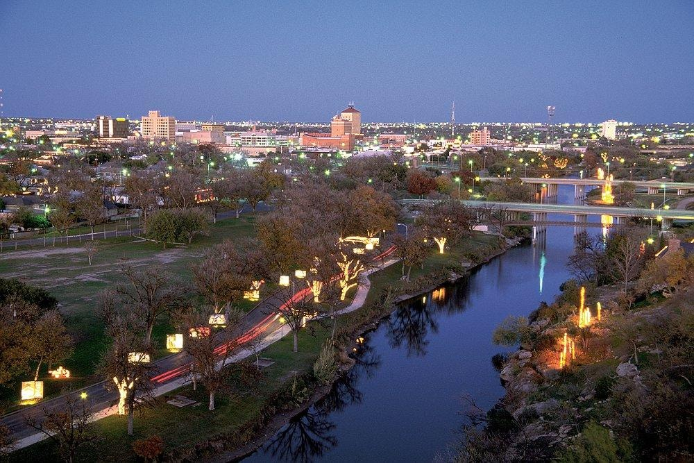 San Angelo at Night