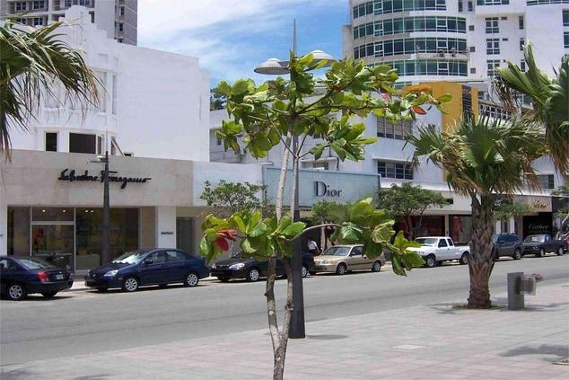 San Juan Ashford Avenue shops