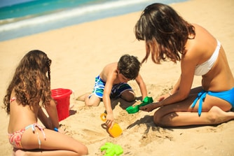 Family Beach day Isla Verde