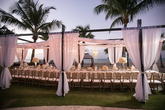 Outdoor wedding Isla Verde