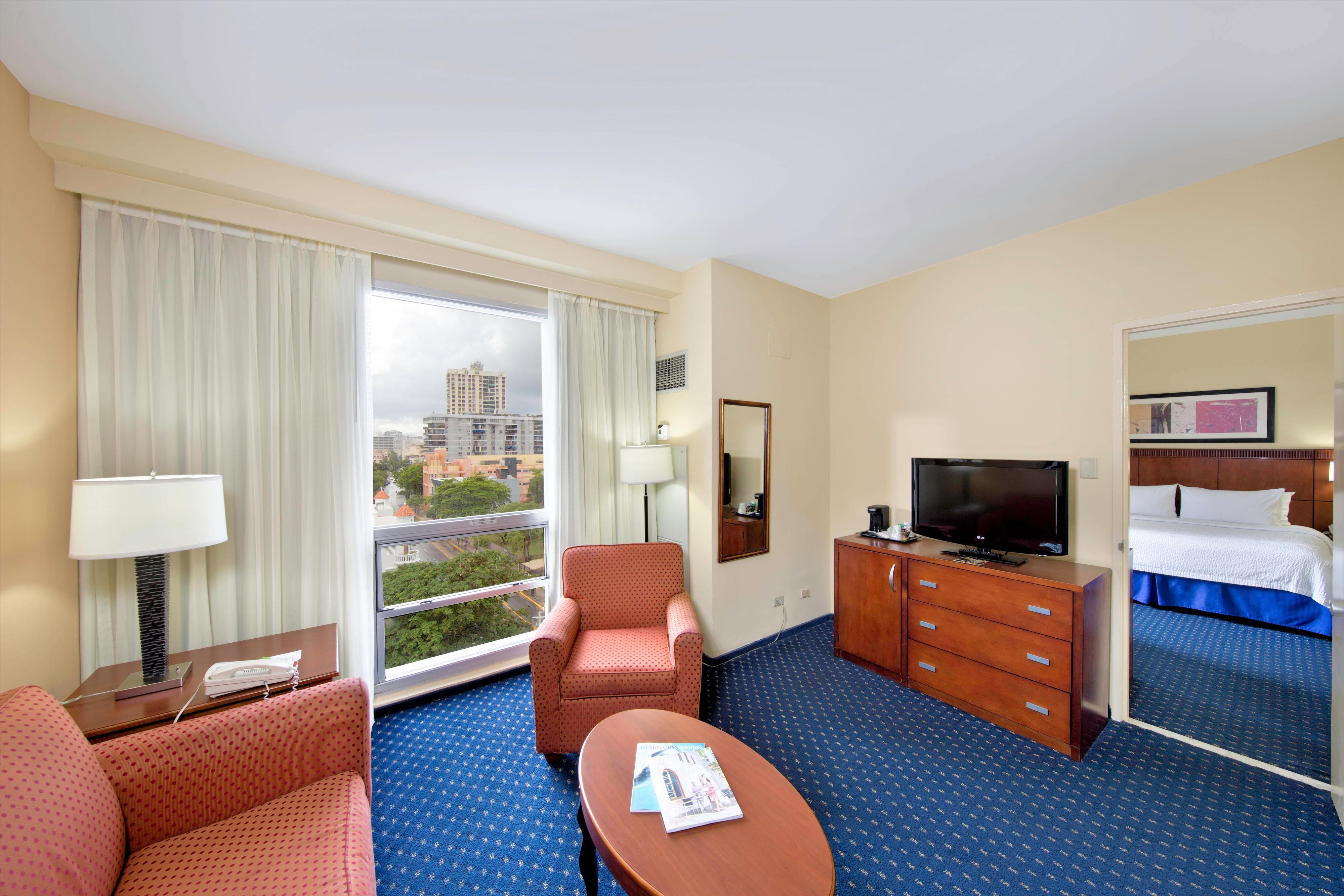 Suíte com um quarto–área de estar