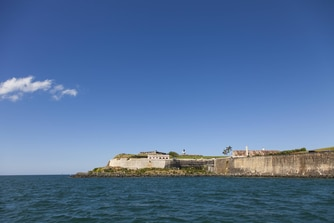 El Morro Fort and boardwalk