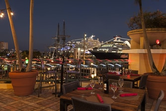 Palio outdoor terrace Bar & lounge