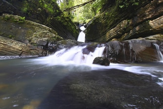 Waterfall at El Yunque Rainforest