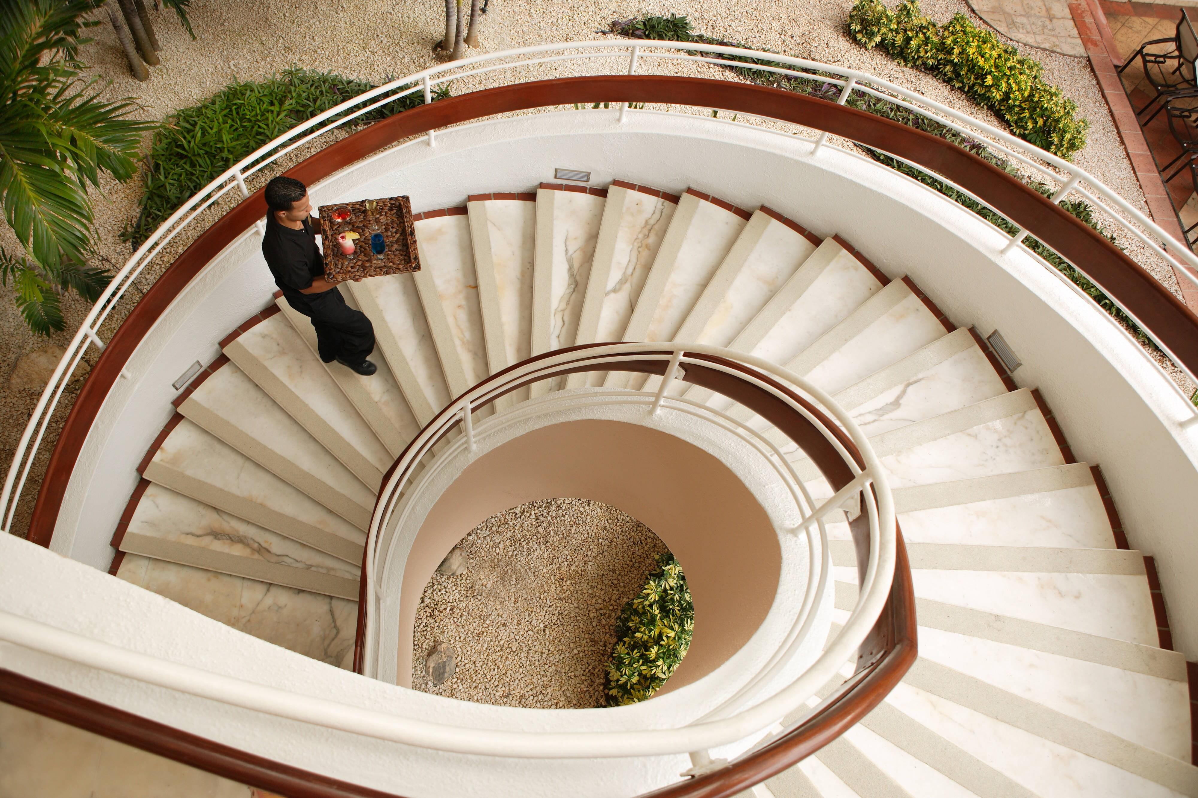 Escadaria em espiral