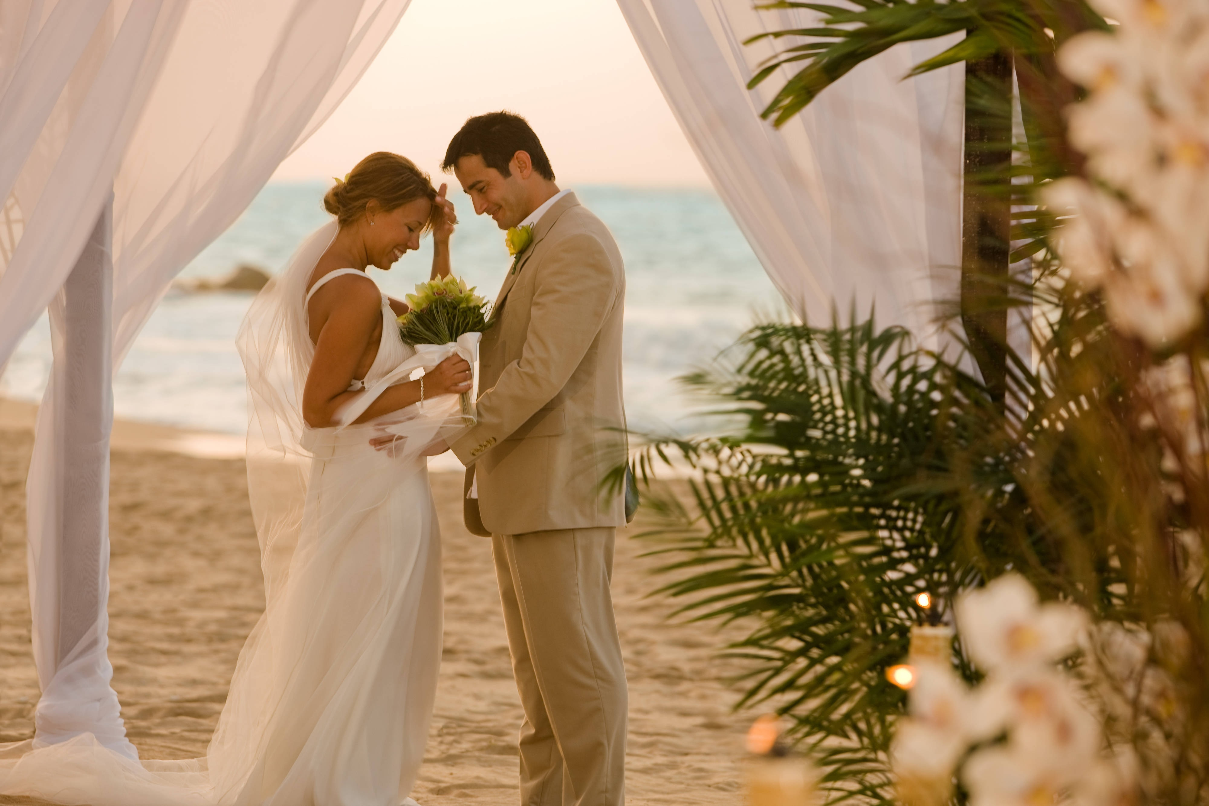 Beachfront Wedding in Puerto Rico