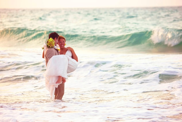 Condado Beach Wedding Ceremony