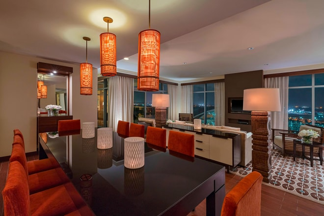 Presidential Suite - Dining and Living Area