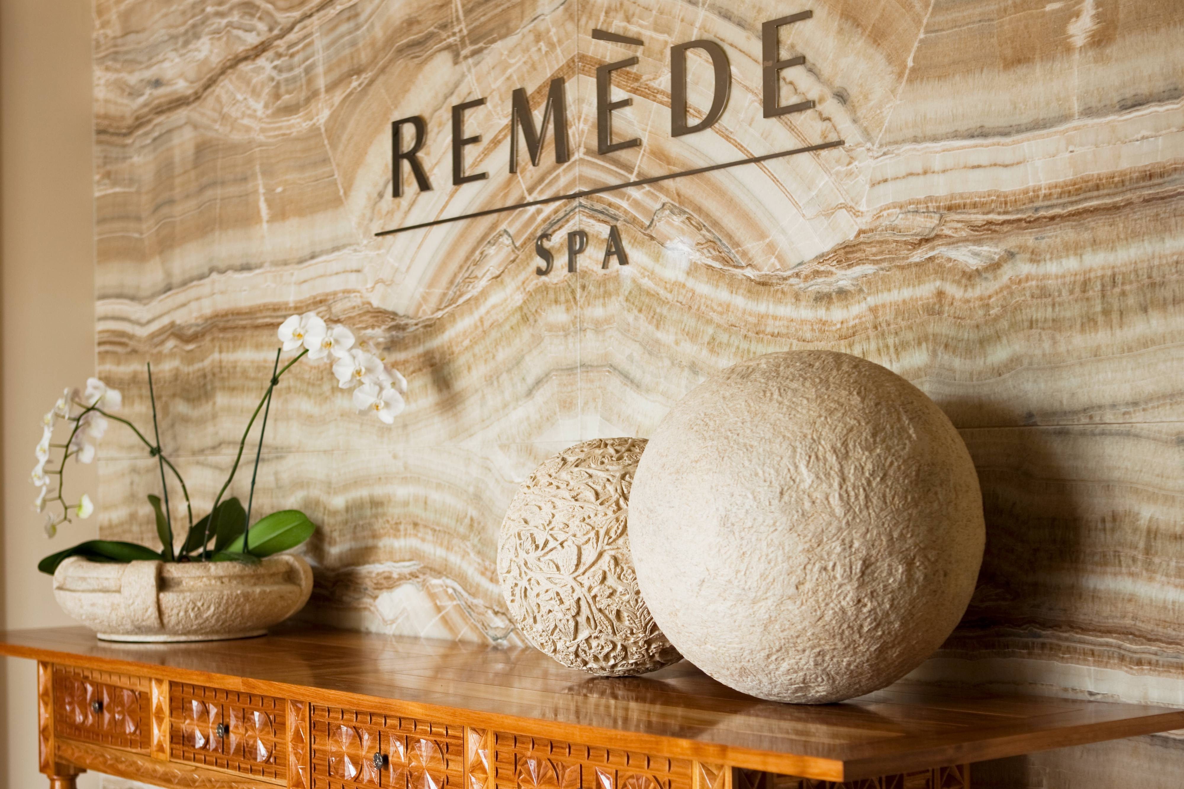 Remède Spa Entrance