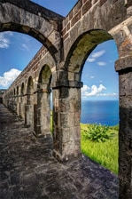 St Kitts Brimstone Hill Archway