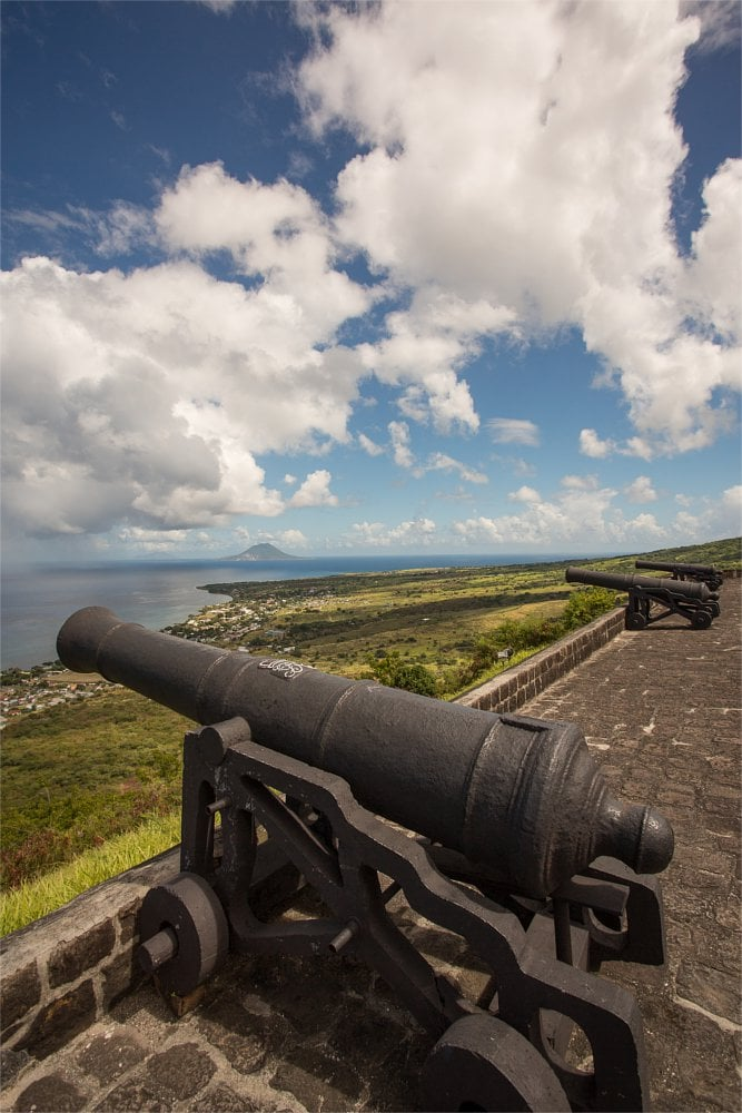 St Kitts Brimstone Fortress
