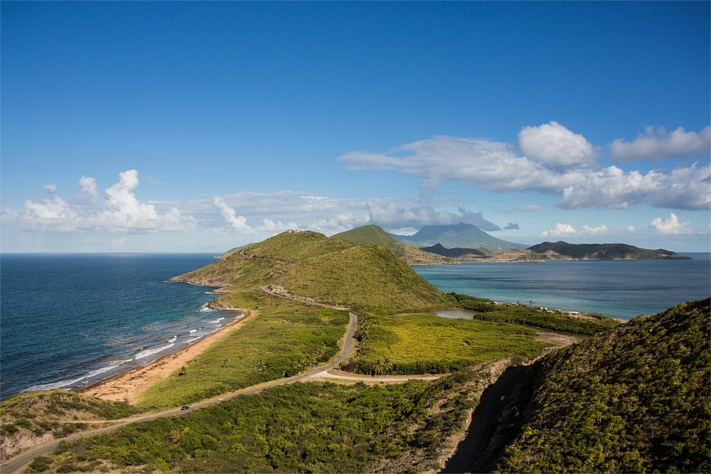 St Kitts Island Peninsula