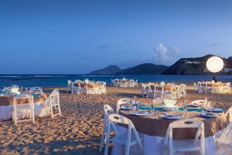 Beach Dinner Reception