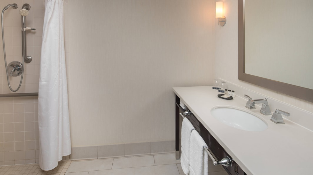 Accessible Bathroom with RollIn Shower