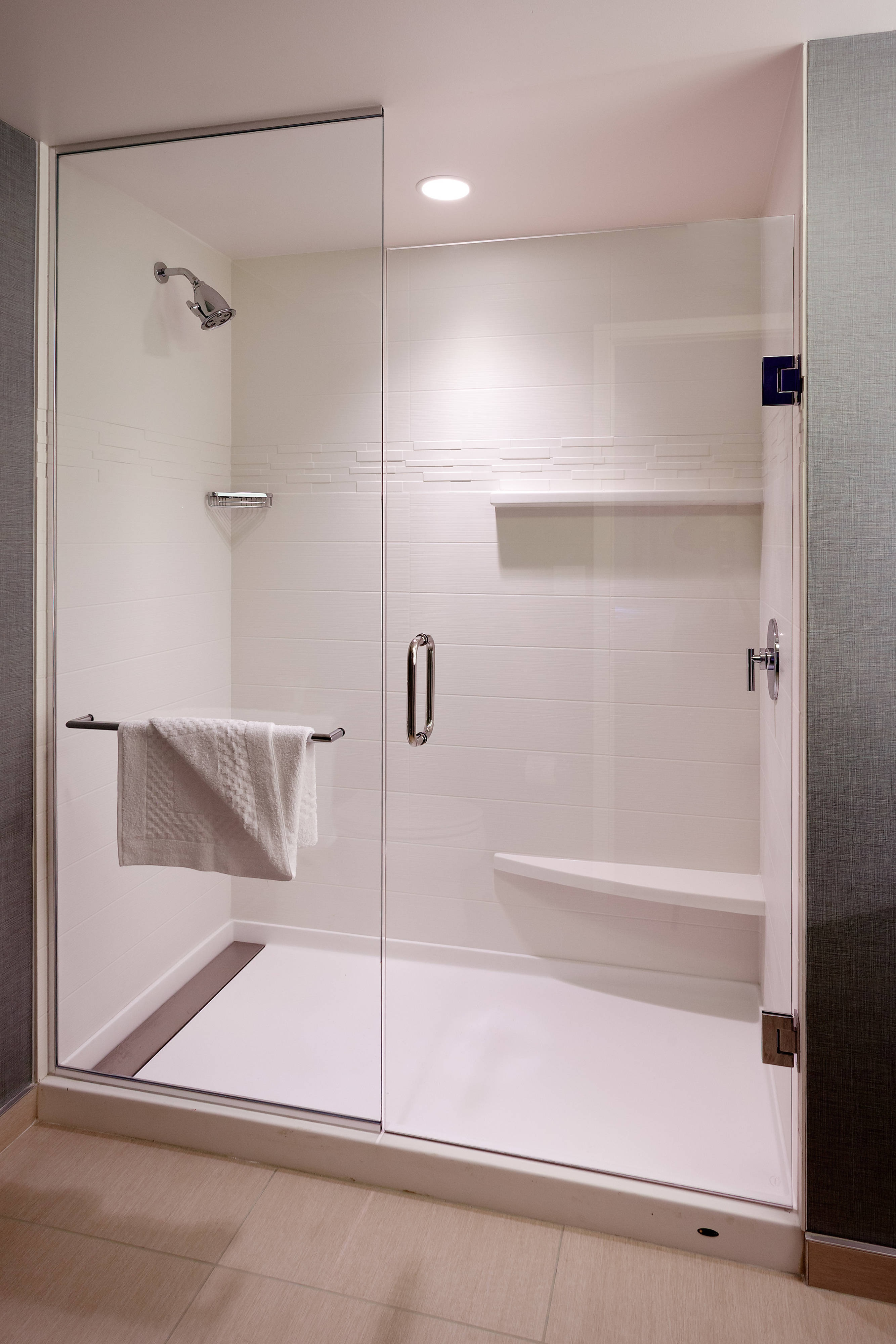 Suite Bathroom - Shower