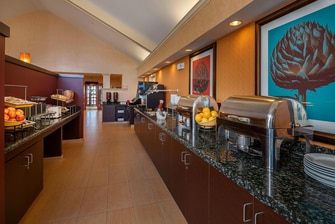 Residence Inn Salt Lake City Breakfast Buffet