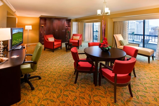 Salt Lake City Hotel Suite
