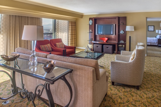 Downtown SLC Presidential Suite Living Area