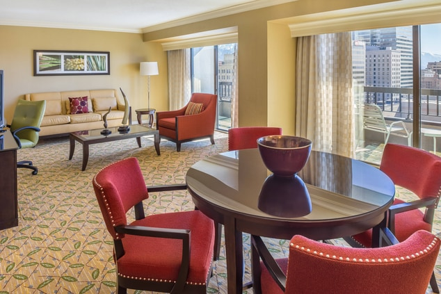City Creek Hotel Vice Presidential Suite
