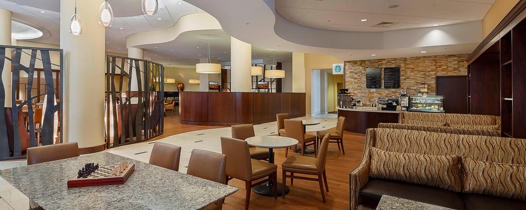 Starbucks Café in Lobby in Provo, Utah