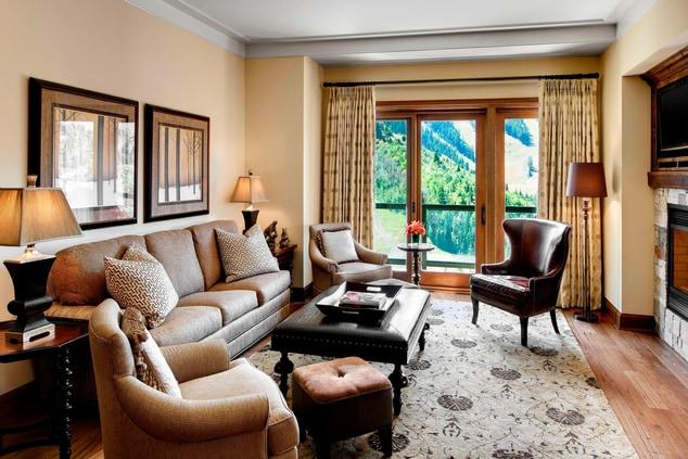 St Regis Residence Living Room