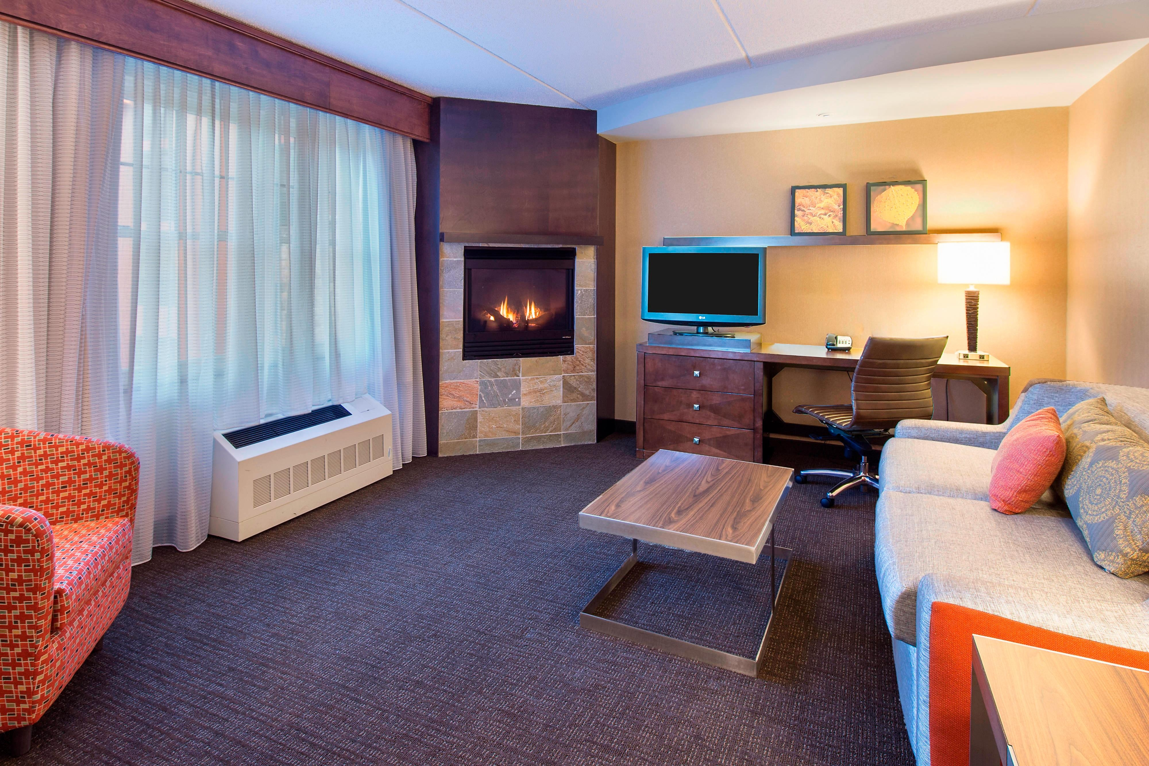 Fireplace King Suite