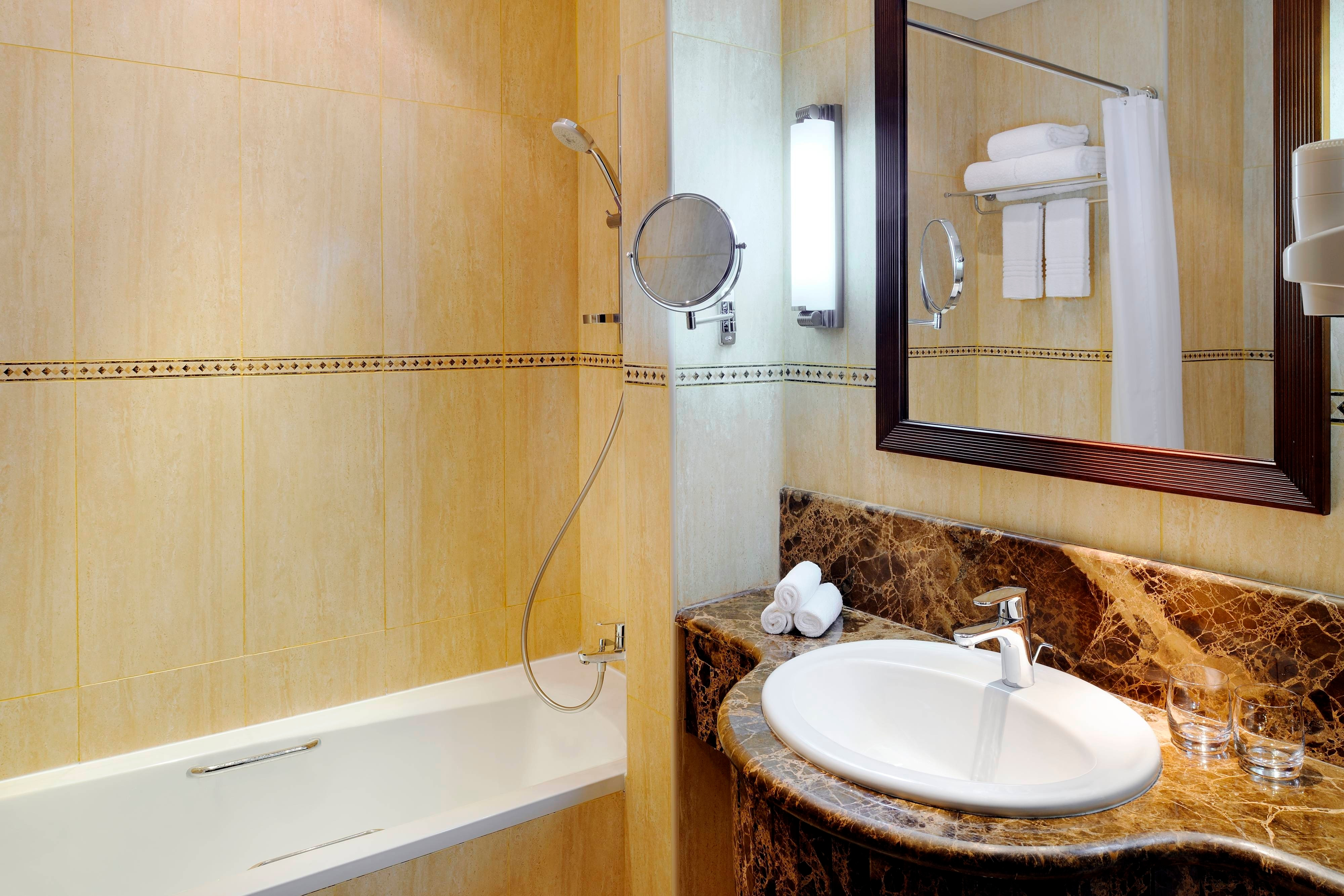 Marriott Salalah Chalet Bathroom