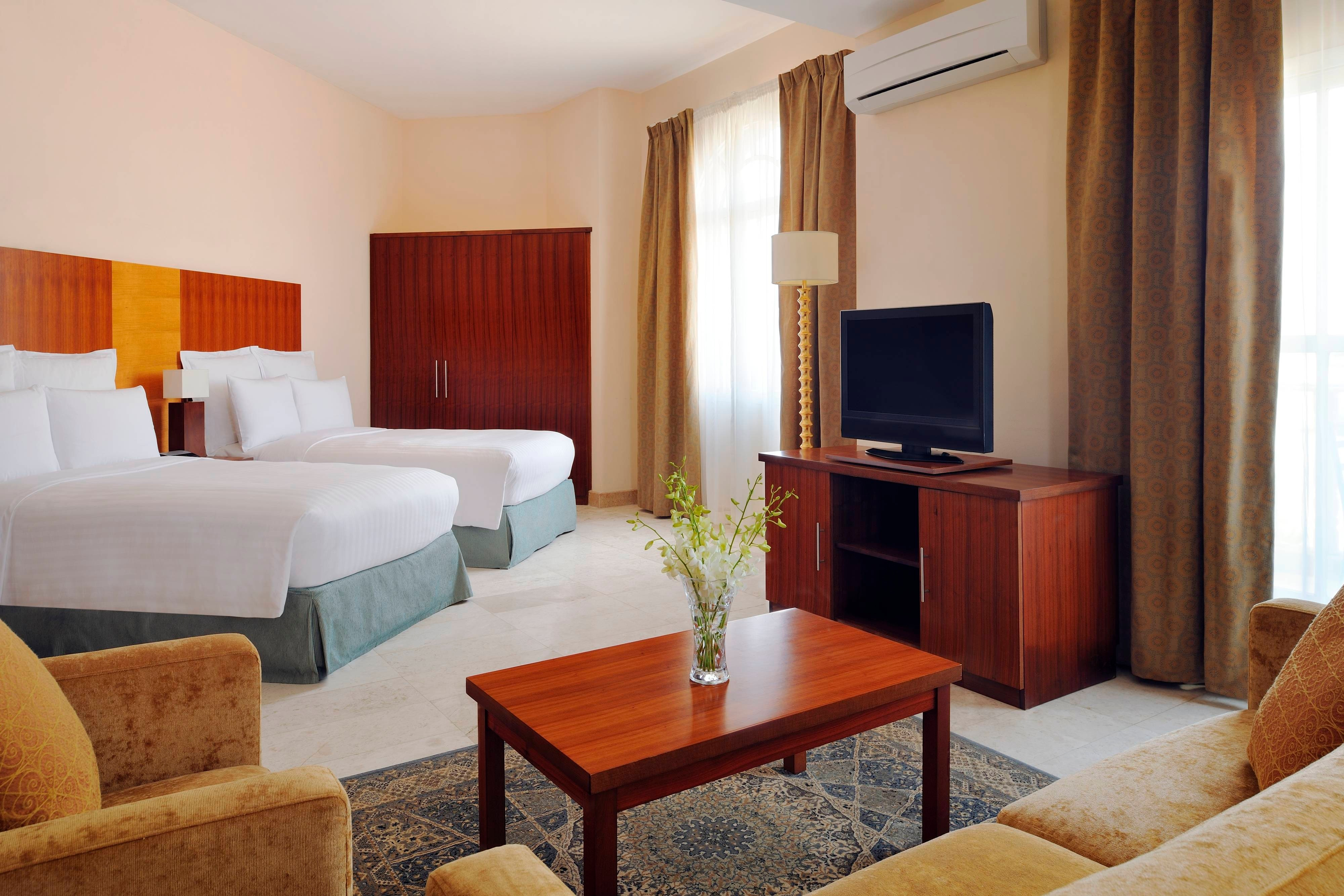 Marriott Salalah Chalet Bedroom