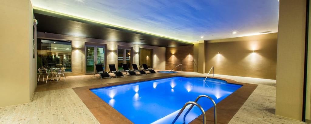 サンルイスポトシのホテルの屋内プール