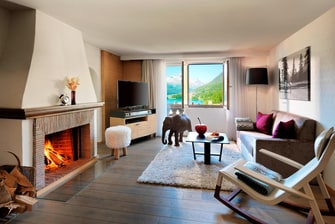 Mountain Suite - Living Area
