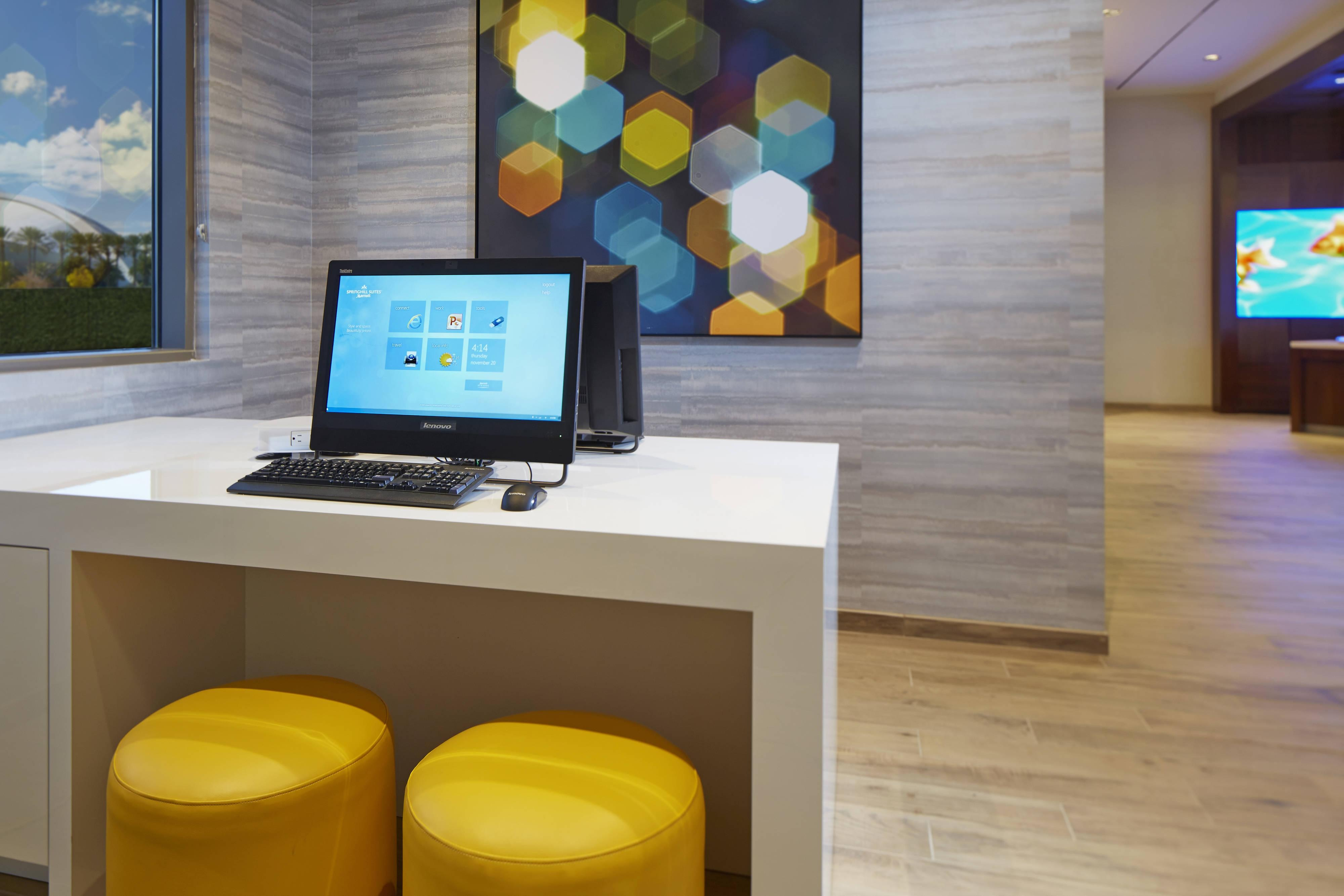 Springhill Suites Complimentary Business Center