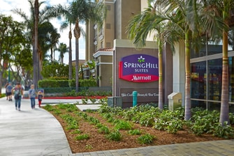 Springhill Suites at Anaheim Resort/Convention Center Hotel East View