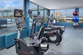 Gimnasio del SpringHill Suites at Anaheim Resort/Convention Center