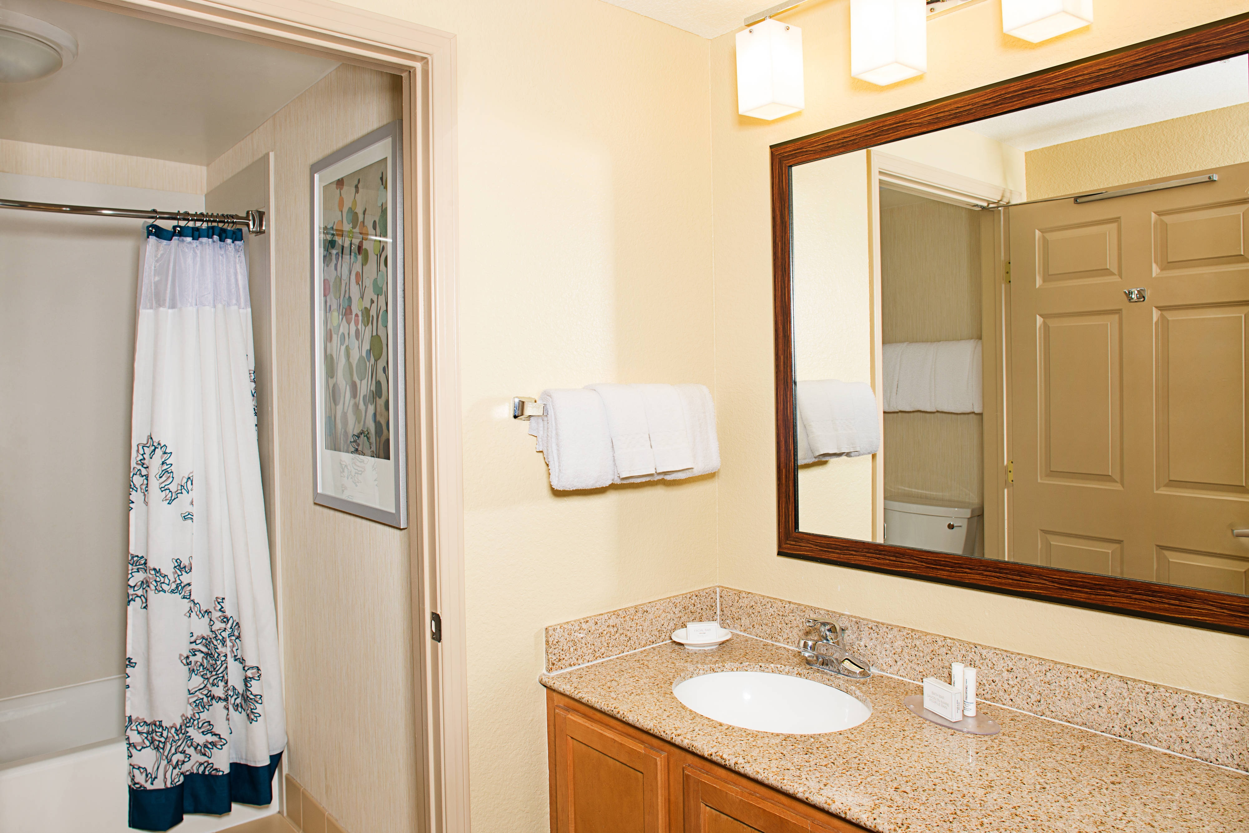 Residence Inn Suite Bathroom