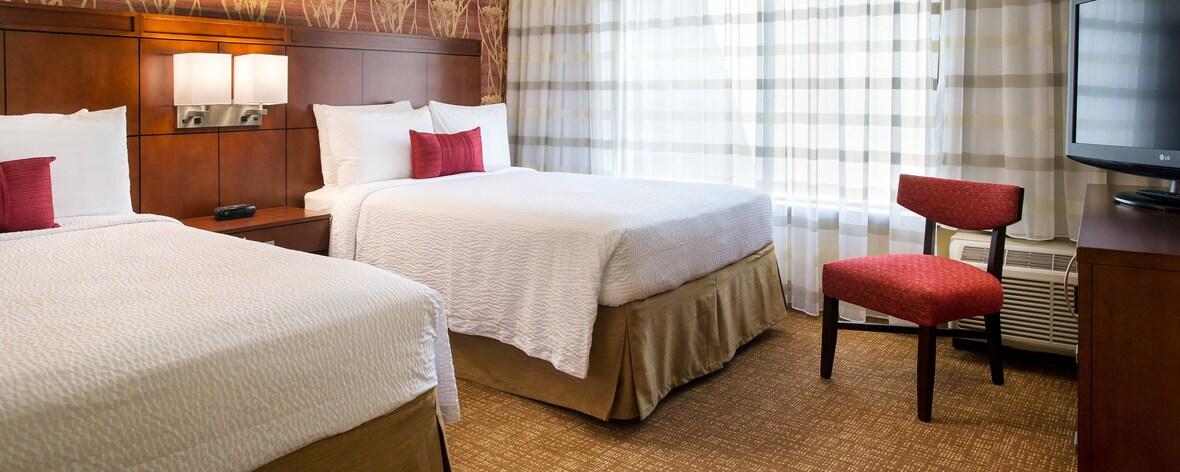 Suite à deux lits doubles