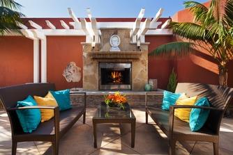 Dana Point Spa - Fireplace