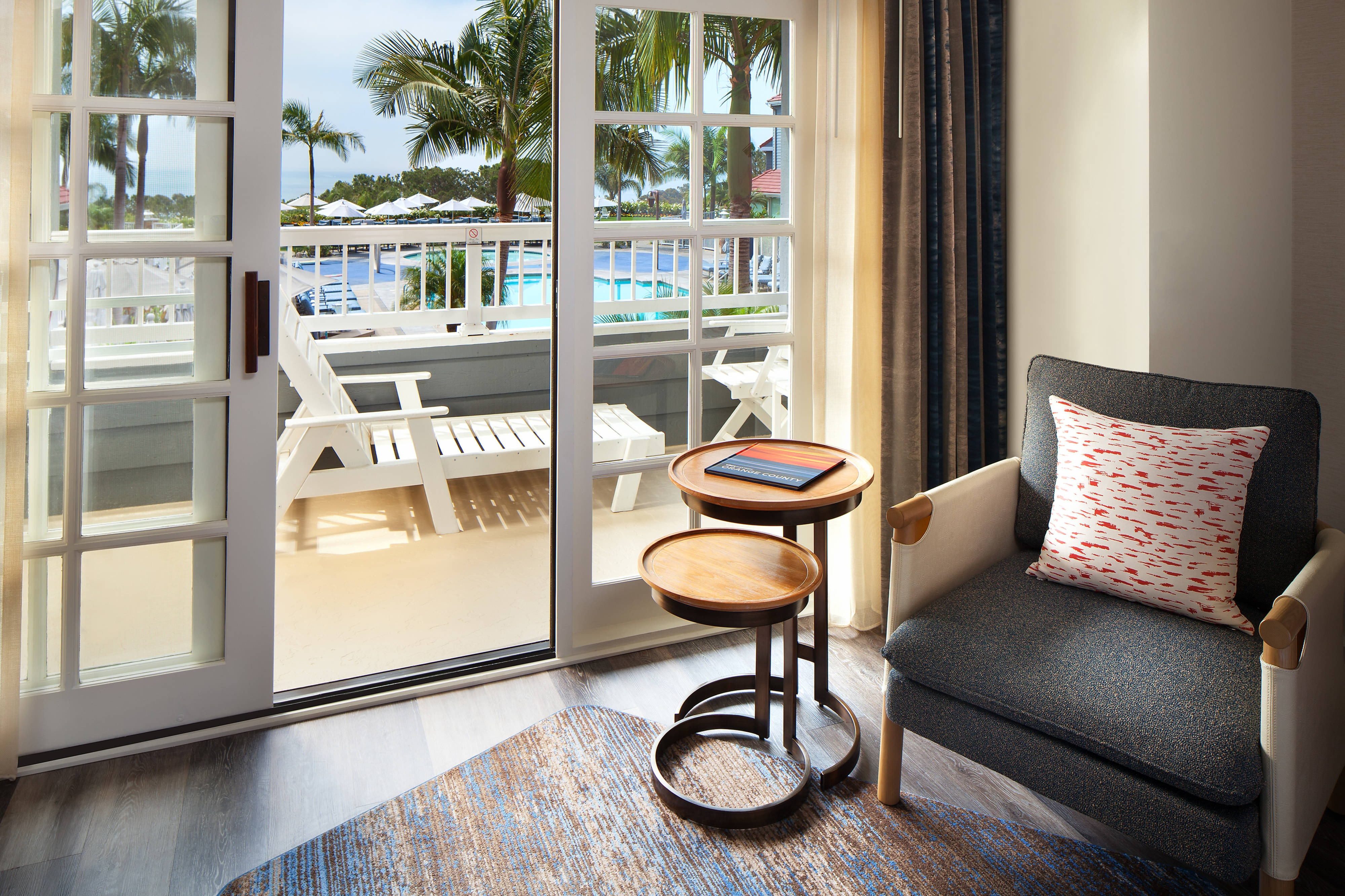 Pool View Guest Room - View