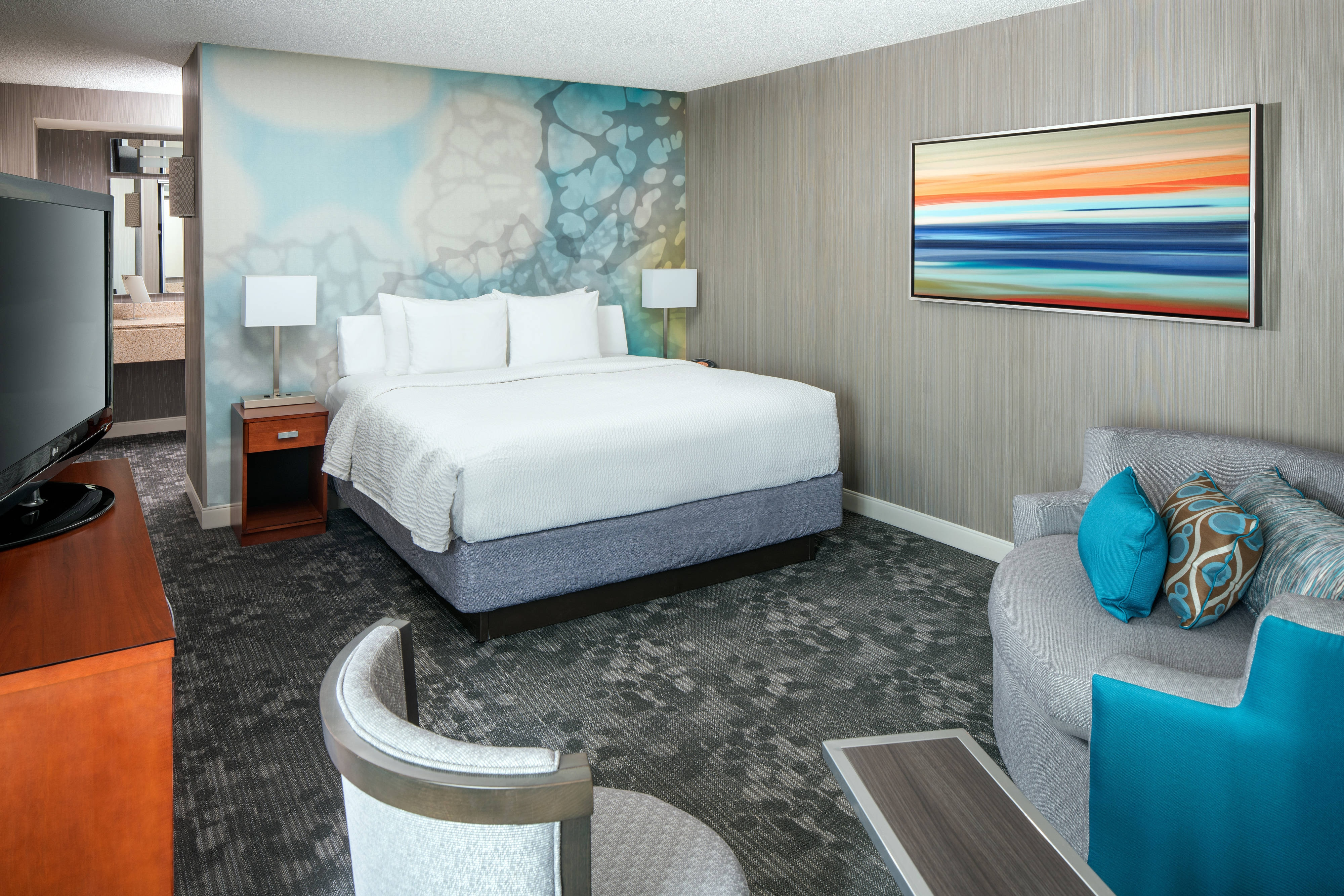Kingsize Suite – Schlafzimmer