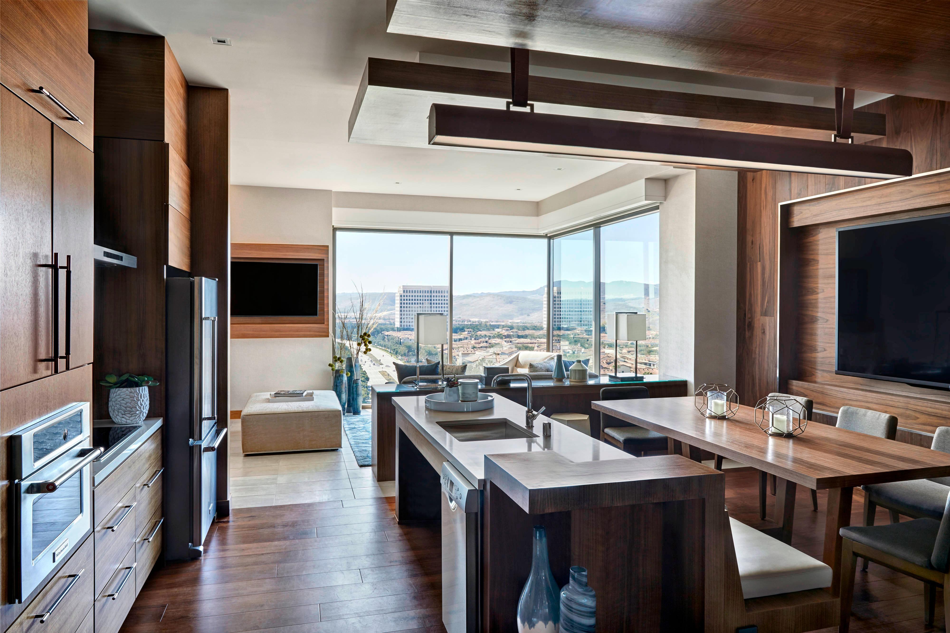 Presidential Suite Living Area