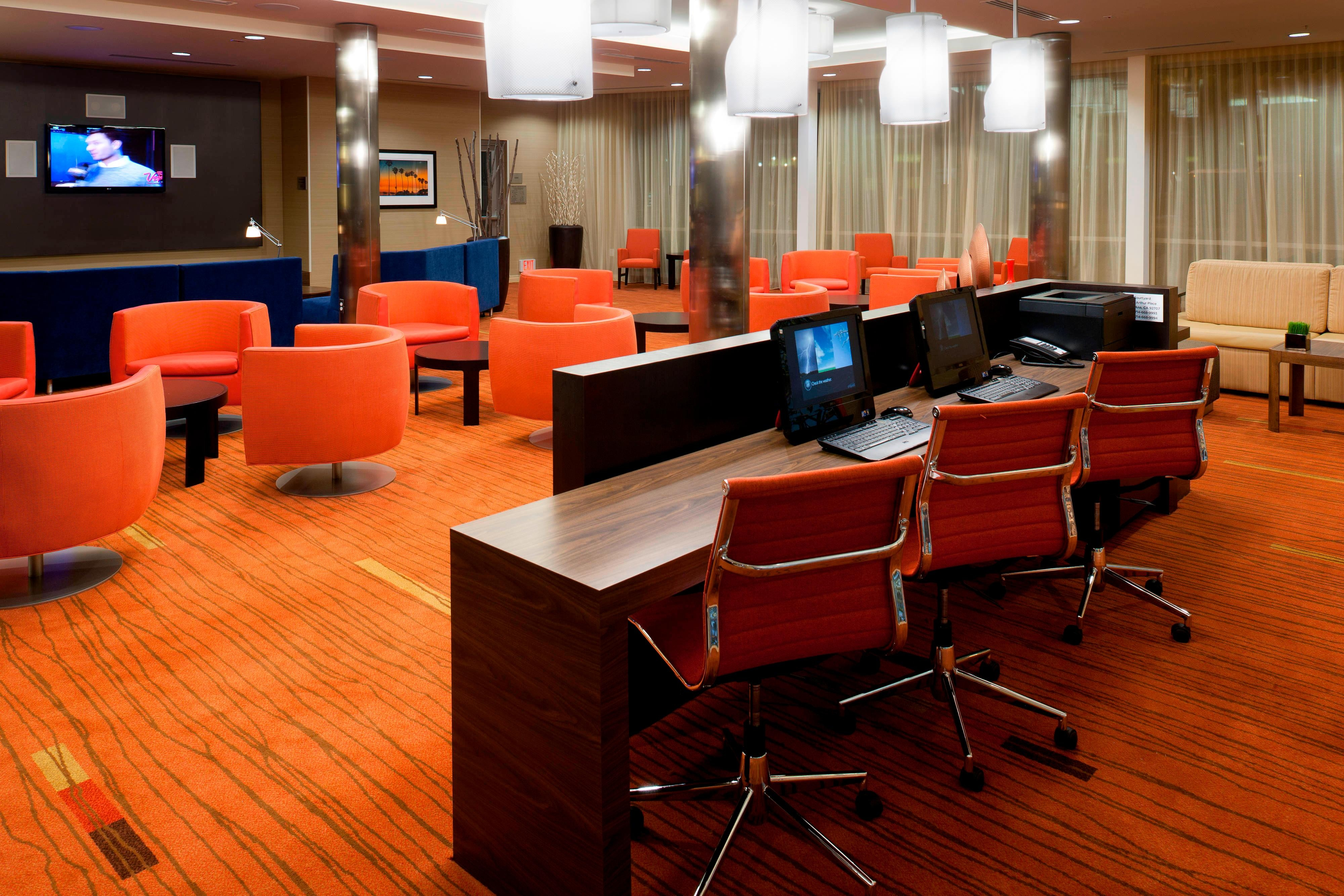 Business Center - Santa Ana hotels