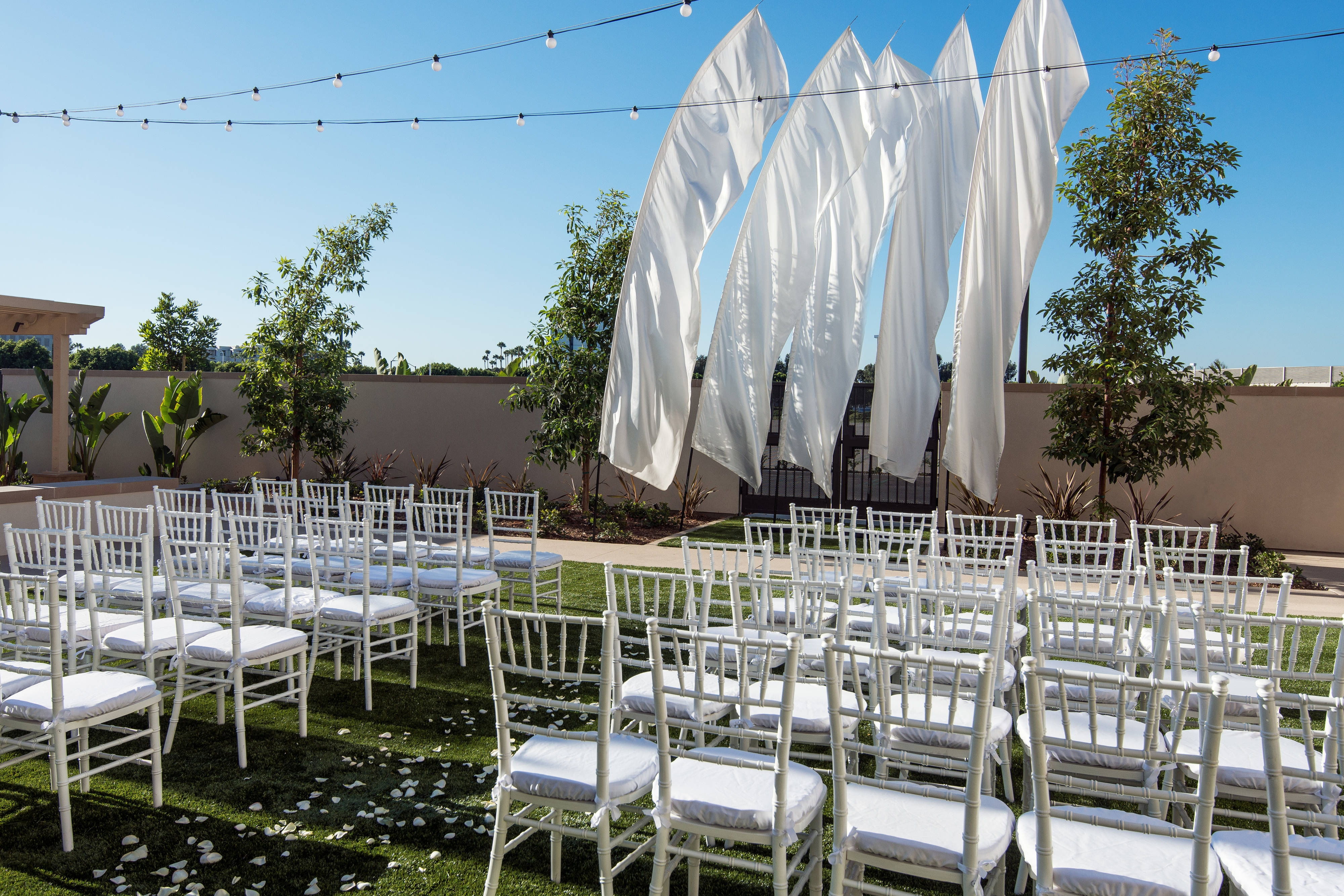 Event Lawn - Wedding Ceremony Setup