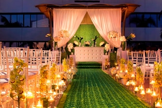 Gazebo Wedding - Night