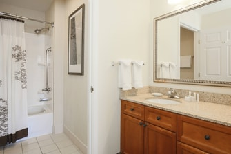 Salinas California Guest Bathroom